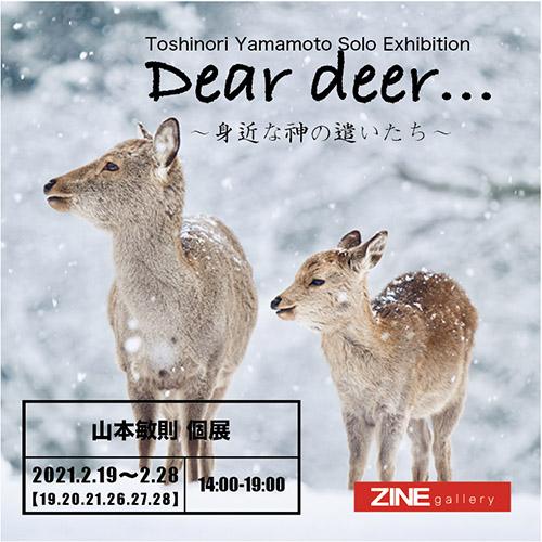 山本敏則 写真展『Dear deer…〜身近な神の遣いたち〜』
